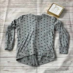 Girls 3/4 length sleeve top size medium, 10